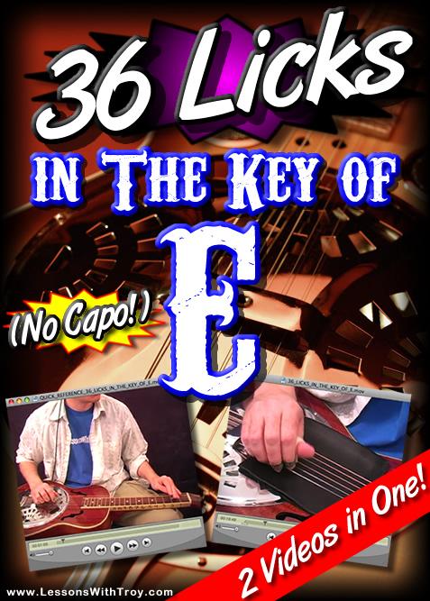 36 Licks In The Key of E - No Capo!