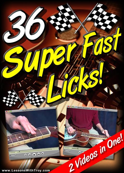 36 SUPER FAST LICKS for Dobro®
