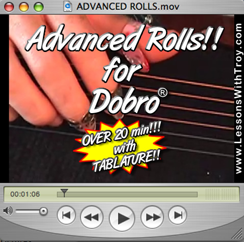 Advanced Rolls for the Dobro®