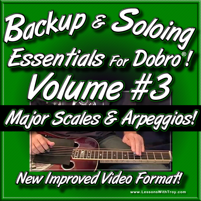 Backup & Soloing Essentials Volume #3