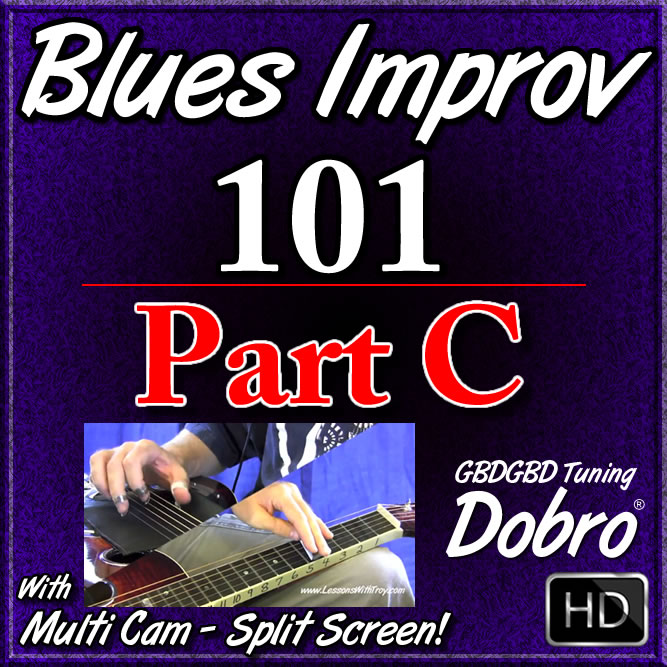 BLUES IMPROV. 101 - Part C - Call & Response Blues Licks by Ear