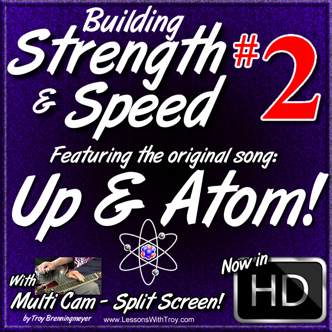 "Building Strength & Speed - Vol. #2 - Featuring the Orignal Song ""UP & ATOM!"""