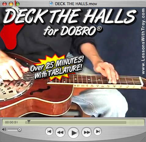 Deck the Halls - Christmas/Holiday Music for Dobro®