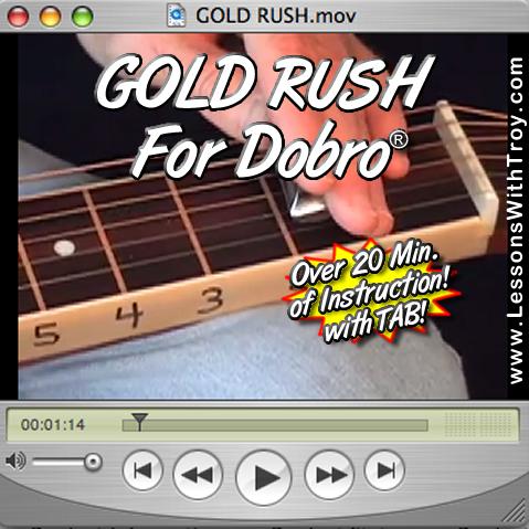 Gold Rush - Bluegrass Song for Dobro®