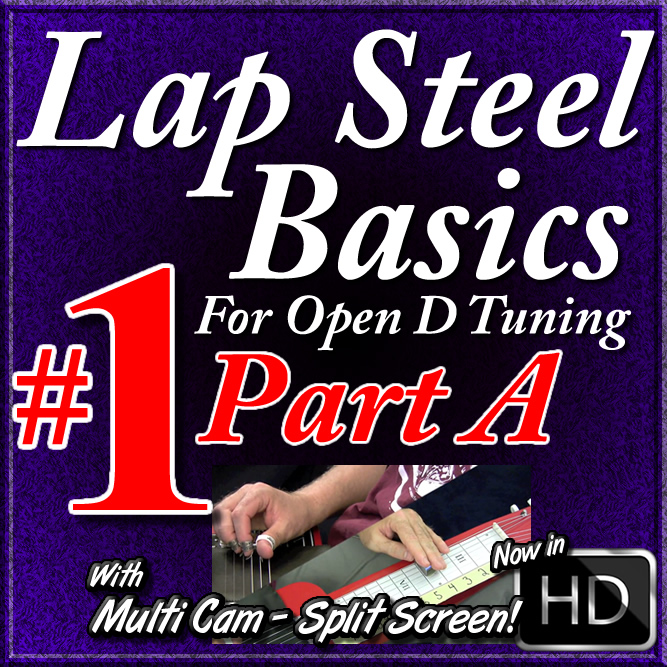 Lap Steel Basics - Vol. 1 - Part A