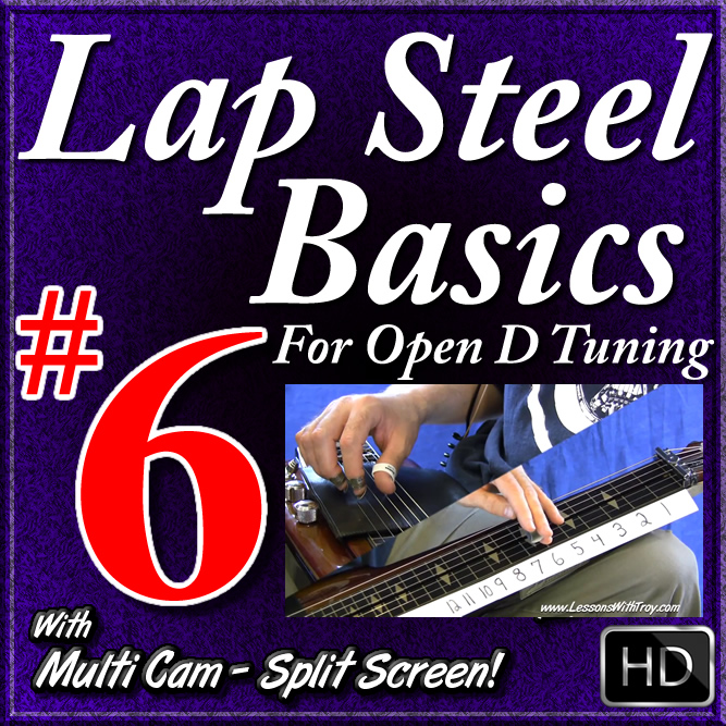 "Lap Steel Basics - Vol. 6 - ""Sitting On Top of the World"" - Slow Delta Blues"
