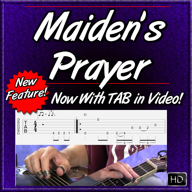 Maiden's Prayer - Country Dobro Lesson
