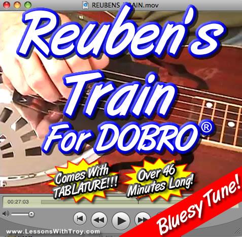 Reuben's Train - Bluegrass Song for Dobro®