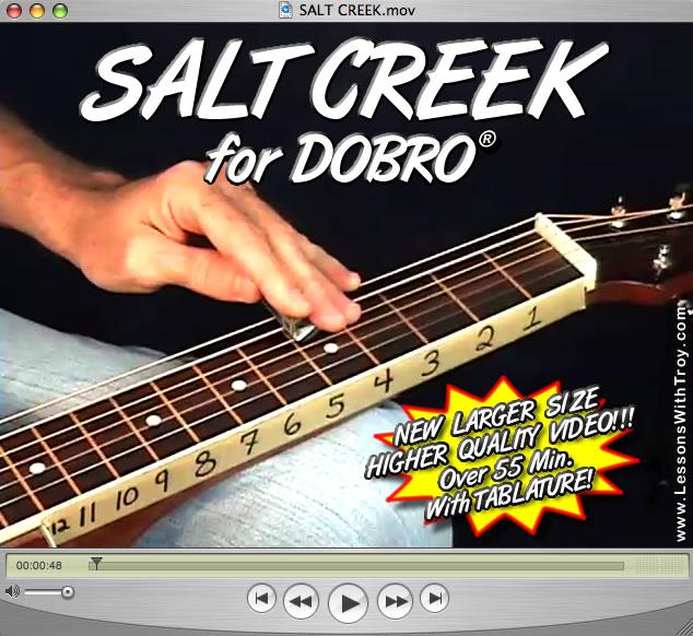 Salt Creek - Bluegrass Song for Dobro®