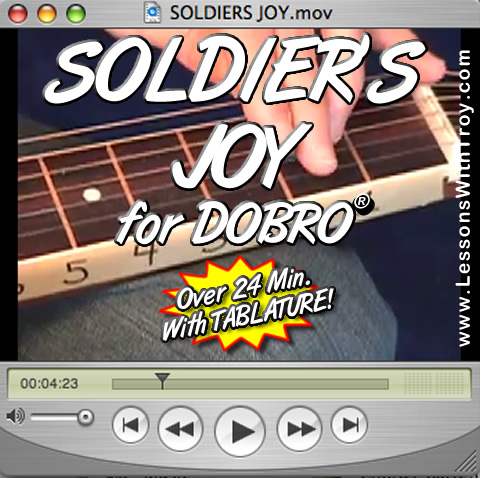 Soldier's Joy - Bluegrass Song for Dobro®