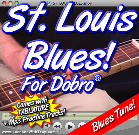 St. Louis Blues - Blues Song for Dobro®