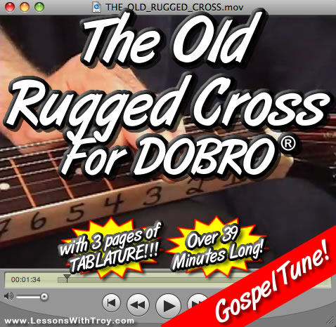 The Old Rugged Cross - Gospel tune for Dobro®