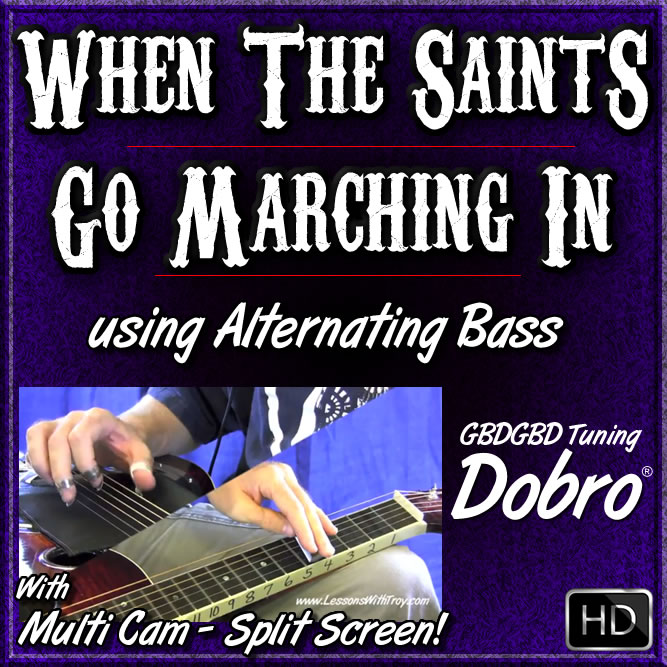 WHEN THE SAINTS GO MARCHING IN - using Alternating Bass