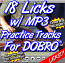 18 Licks for Dobro@ - & How to use them + MP3 Practice Tracks