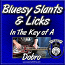 Bluesy Slants & Licks - In The Key of A
