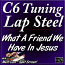 What A Friend We Have In Jesus - for C6 Lap Steel