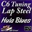 HULA BLUES - C6 Hawaiian Lap Steel Lesson