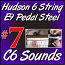 #7 - Hudson Pedal Steel Basics - C6 Sounds For E9 Hudson