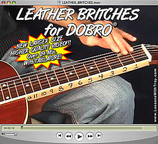 Leather Britches - Bluegrass Song for Dobro®