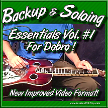 Backup & Soloing Essentials - Volume #1