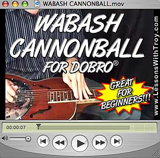 Wabash Cannonball for Dobro®