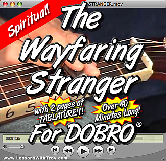 Wayfaring Stranger - Gospel Tune for Dobro®