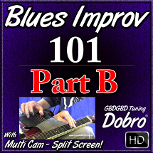 BLUES IMPROV. 101 - Part B