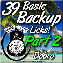 39 Basic Backup Licks - PART 2
