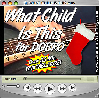 What Child Is This - Christmas/Holiday Music for Dobro®