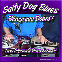 Salty Dog Blues - Bluegrass Song & Solo For Dobro®