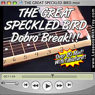 Great Speckled Bird - Dobro® Bluegrass Song