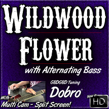 WILDWOOD FLOWER - with Alternating Bass