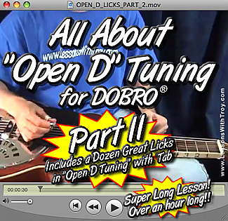 "All About Open D Tuning - ""PART 2"""