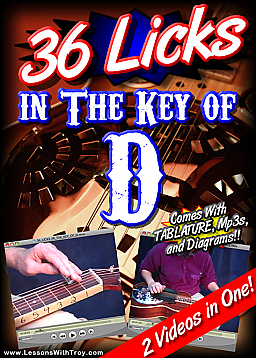 36 Licks In The Key Of D for Dobro®