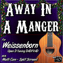 AWAY IN A MANGER - For Weissenborn
