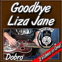 Goodbye Liza Jane - Bluegrass song for Dobro®