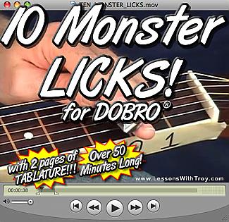 10 Monster Licks for the Dobro®