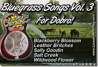Bluegrass Songs for Dobro® Vol. 3