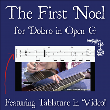 The First Noel - Christmas Song for Dobro