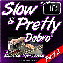 SLOW 'N PRETTY Dobro® - Part 2