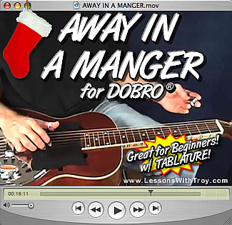 Away In A Manger - Christmas Music for Dobro®