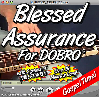 Blessed Assurance - Gospel Song for Dobro®