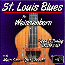 St. Louis Blues - For Open D Tuning