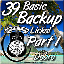 39 Basic Backup Licks - PART 1