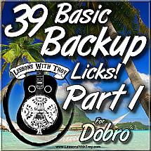 39 Basic Backup Licks - PART 1