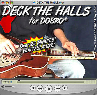Deck the Halls - Christmas/Holiday Music for Dobro®
