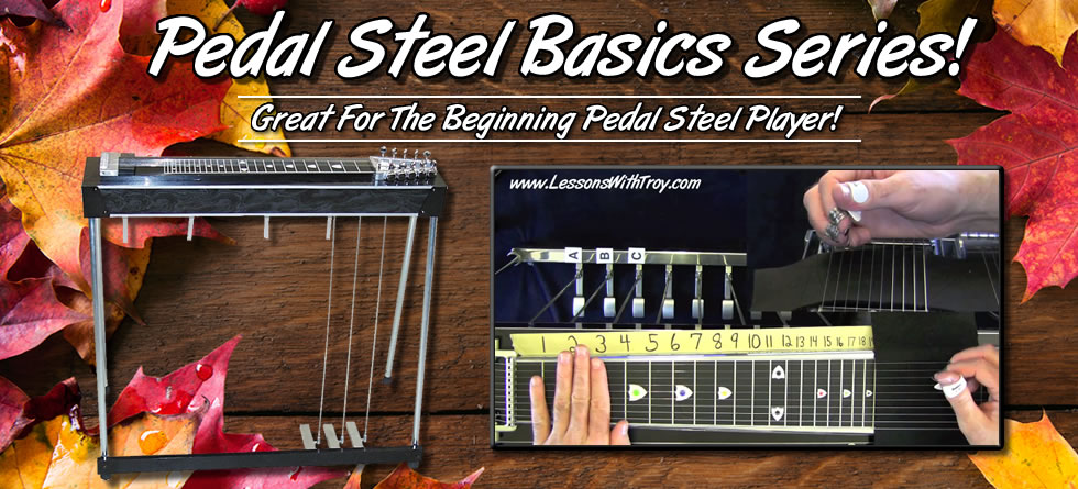 Pedal Steel Lessons For Beginners