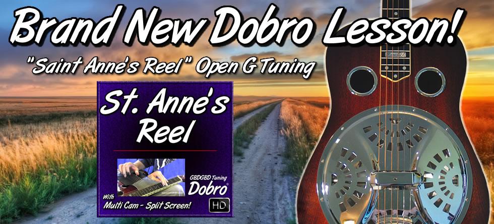 Saint Anne's Reel - Bluegrass Song For Dobro
