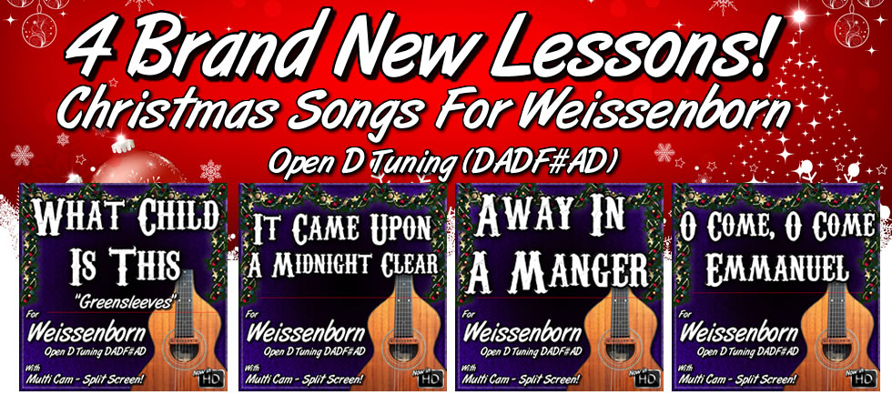 Christmas Songs For Weissenborn