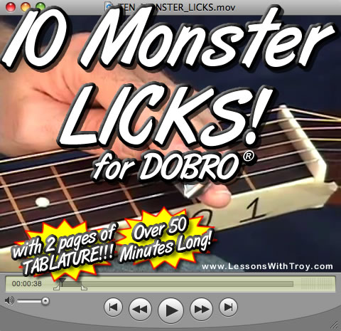 10 Monster Licks for the Dobro®